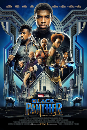 4DX 2D Black Panther