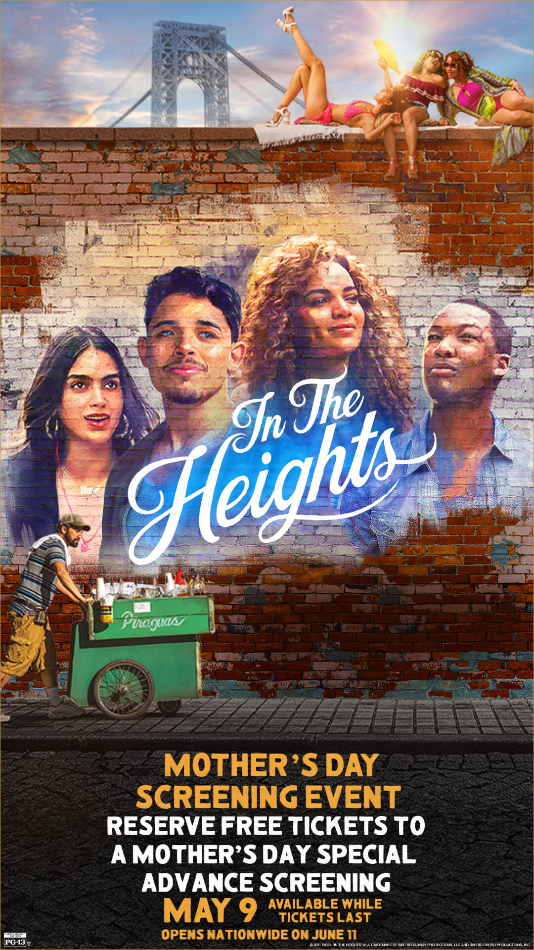 In the Heights Mother's Day Screening Event