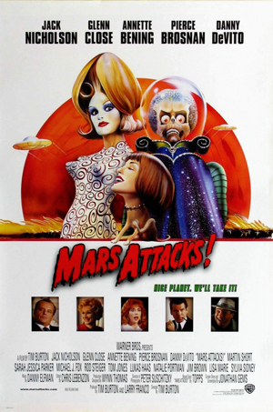 Mars Attacks! in 35MM