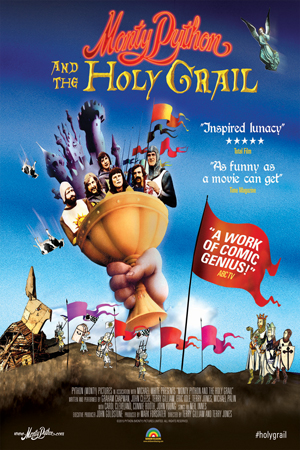 Monty Python and the Holy Grail 45th Anniversary