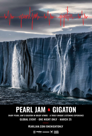 Pearl Jam's Gigaton in Dolby Atmos
