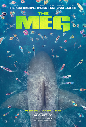 4DX 3D The Meg